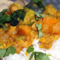 Lentil, Chickpea, Vegetable Curry