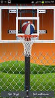 Screenshot of Basketball FREE LIVE WALLPAPER