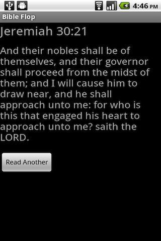 Bible Flop