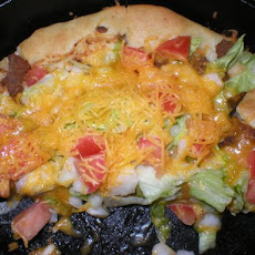 Twig's Taco Pizza