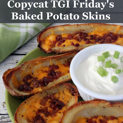 Copycat TGI Friday's Baked Potato Skins