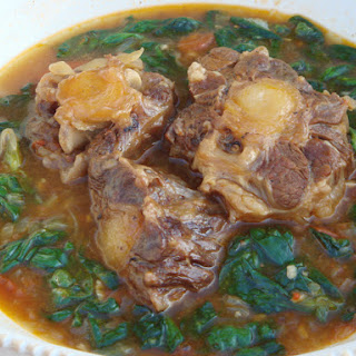 Braised Oxtail with Watercress