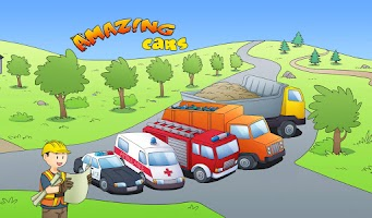 Screenshot of Amazing Cars - kids story book