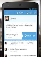 Screenshot of GeoMe: Geo-messenger