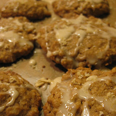 Maple & Brown Sugar Oatmeal Cookies