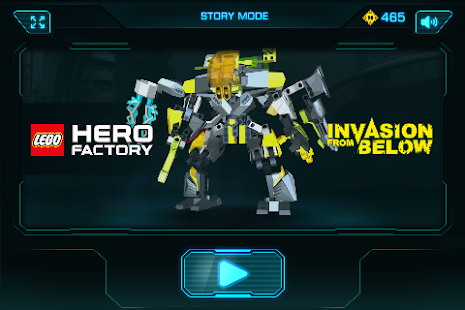 Free Download LEGO® Hero Factory Invasion APK for Blackberry