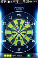 Screenshot of Darts->Clock LiveWall Trial