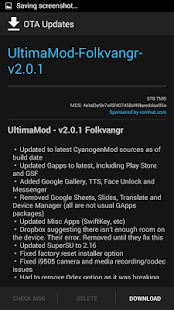 OTA Updates [ROOT][CUSTOM ROM] Screenshot