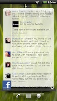 Screenshot of Dell Social Widget