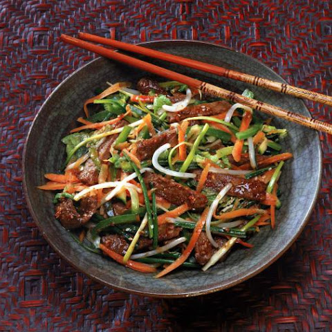 Chinese Stir-fry Beef Recipe - Stir-fry Beef With Oyster Sauce