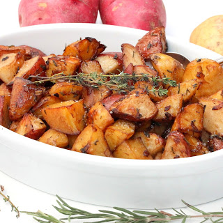 Roasted Potatoes with Balsamic and Herbs