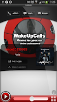 Screenshot of WakeUpCalls
