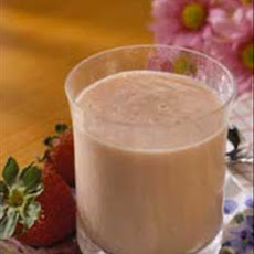 Papaya Strawberry Soymilk Smoothies