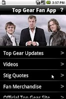 Screenshot of Top Gear Fan App - Unofficial