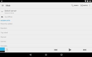 Screenshot of DSub
