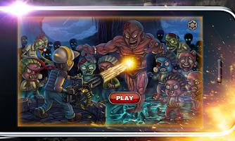 Screenshot of Invader Zombies