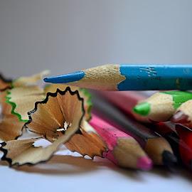 by Kosasih Harris - Artistic Objects Education Objects ( blue, pencil, object )