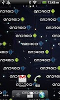 Screenshot of Android Sparkle LWP
