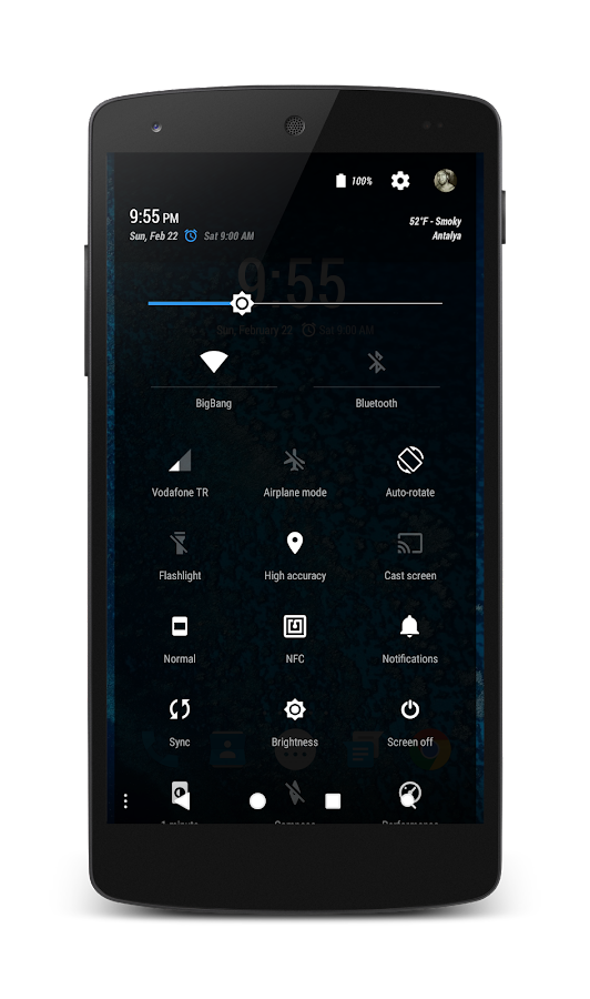 PitchBlack│Oceon CM13/12 Screenshot 4