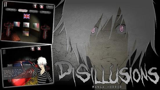 Disillusions Manga Horror APK for Bluestacks