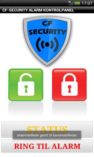 Cf-security Alarmkontrol