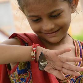 I Love Nature by Bankim Desai - Babies & Children Child Portraits (  )
