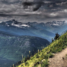 Hiking in Montana by Travis Coner - Backgrounds Nature