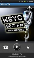Screenshot of WSYC 88.7 FM