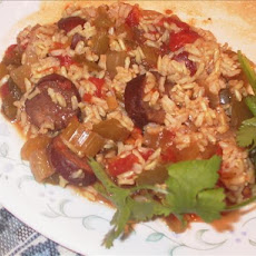 Cajun Sausage and Rice