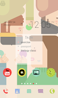 Screenshot of Colorful Sticker dodol theme