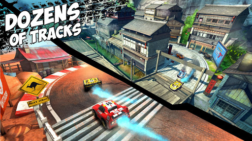 Mini Motor Racing WRT - screenshot