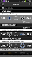 Screenshot of Raiders App