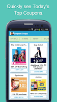 Screenshot of Coupon Sherpa