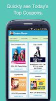 Screenshot of Coupon Sherpa
