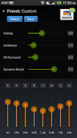 Screenshot of DFX Music Player Enhancer EQ