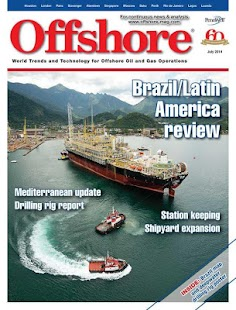 Offshore Magazine - screenshot