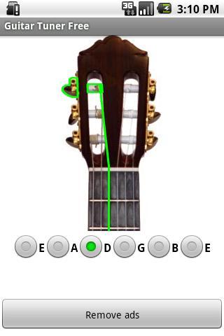 【免費媒體與影片App】吉他調諧器-APP點子