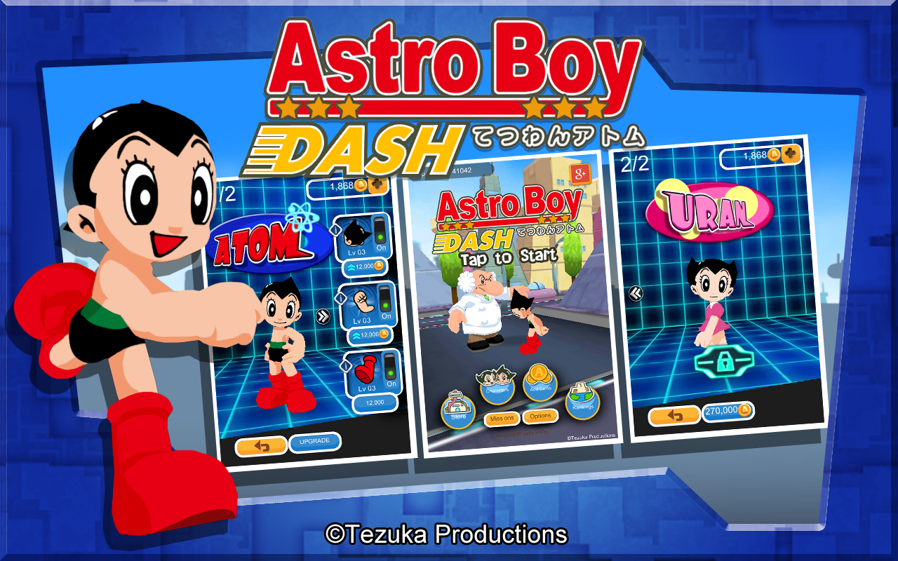 Astro Boy Dash Screenshot 5