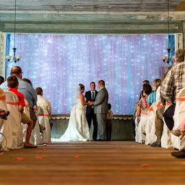 Flora by Emily Myrick - Wedding Ceremony ( schoolhouse, natchitoches, flora, wedding, louisiana,  )
