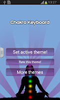 Screenshot of Chakra Keyboard