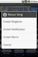 Screenshot of Super Speedway Race Sounds