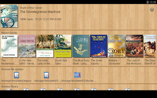 Screenshot of EBook Reader & Free ePub Books