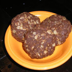 Lynn' Easy Chocolate & Peanut Butter No Bake Cookies