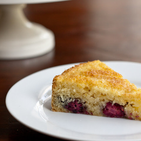Blackberry-Lemon Buttermilk Cake