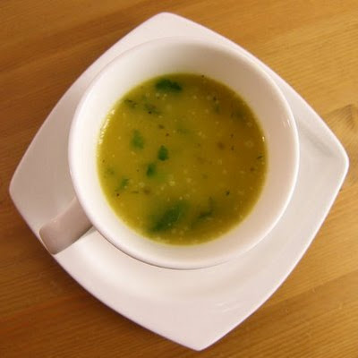 Turnip, Cumin and Coriander Soup