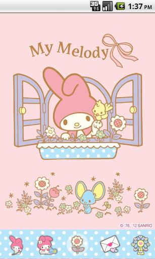 My Melody Windows Theme
