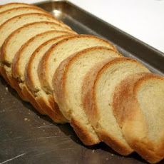 Classic White Bread for the Bread Machine