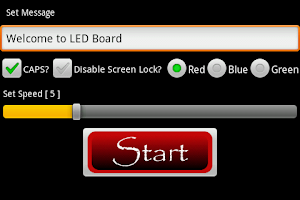 Screenshot of LED Board