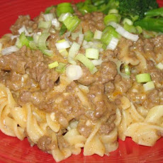 Mom's Easy Hamburger Stroganoff