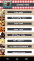 Screenshot of Cookie Recipes